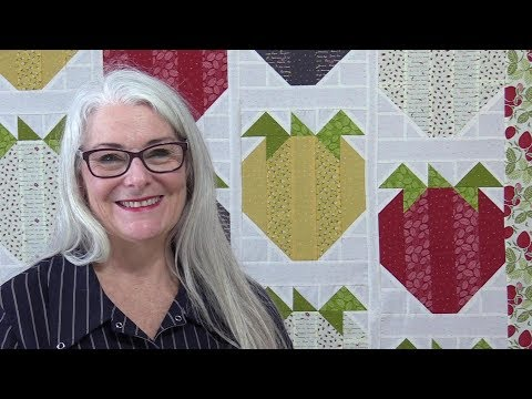 How to Make a Strawberry Quilt