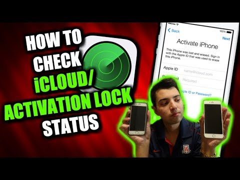 How To Check iCloud Activation Lock Status