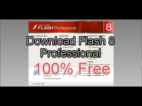 How To Download Macromedia Flash 8 Professional || 100% FREE With Working Serial Key