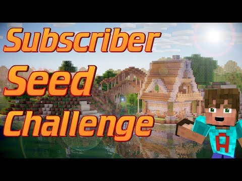Minecraft: How to make a rustic house in Minecraft   Subscriber Seed freehand build tutorial Ep1