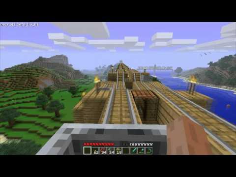Minecraft High Speed Railway Network FAST!