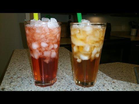 Sparkling Raspberry & Peach Iced Tea Recipe - Cindys Kitchen