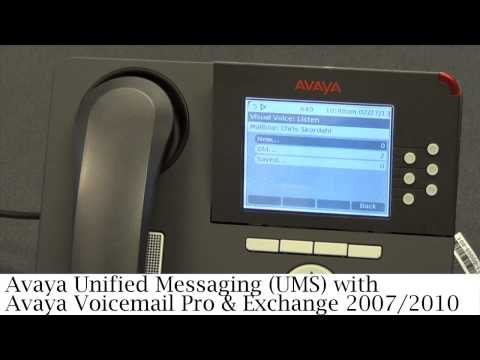 How to Check Voicemail with Avaya IP Office