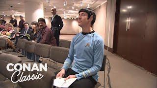 Conan Sends Spock To A