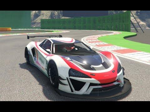 GTA 5 Super Car Track Testing Retest (Progen Itali GTB Custom)