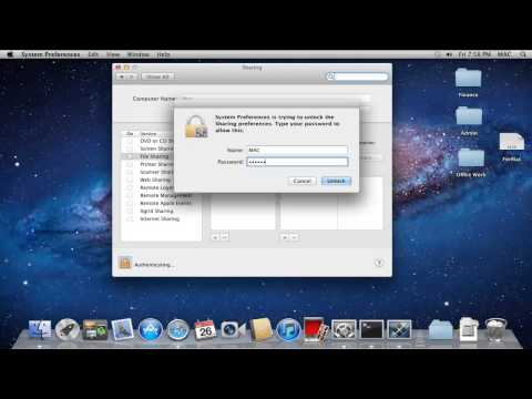 How to Share Folder in Mac