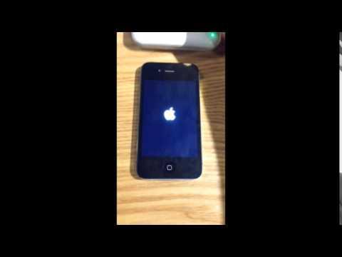 jailbroken iPhone 4 by Pangu, boot loop and light sensor