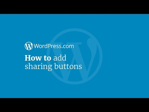 WordPress Tutorial: How to Add Social Sharing Buttons to Your Website