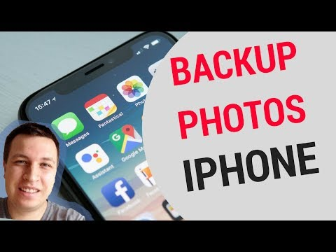 📲 iPhone - How to backup photos?