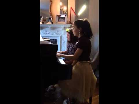 Do you want to build a snowman piano duet at recital