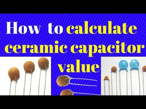 Determining the value ceramic capactior