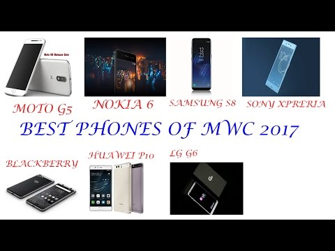 Top Best 6 Android Phone Release 2017