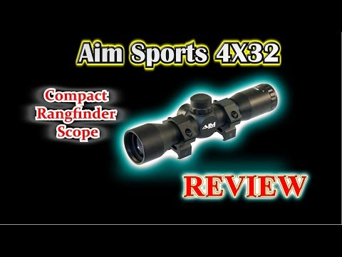 REVIEW:  Aim Sports 4X32 Compact Rangfinder Scope