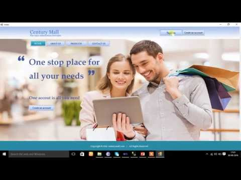 How to make a vb.net project on Online Shopping Mall Information Providing System
