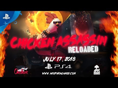 Chicken Assassin: Reloaded - Announcement Trailer | PS4