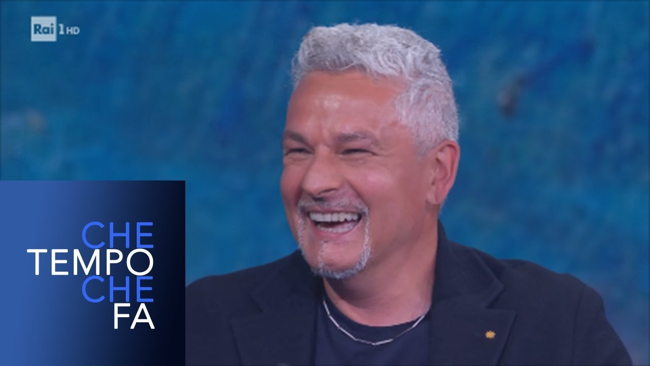 Roberto Baggio - Che tempo che fa 26/05/2019
