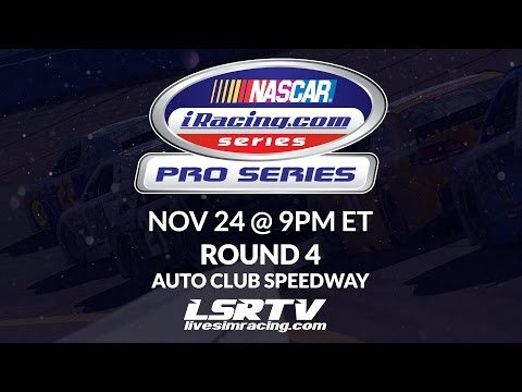NASCAR iRacing Pro Series |Round 4| Live from AutoClub