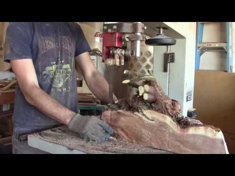 Milling An Entire Mesquite Tree On A 24