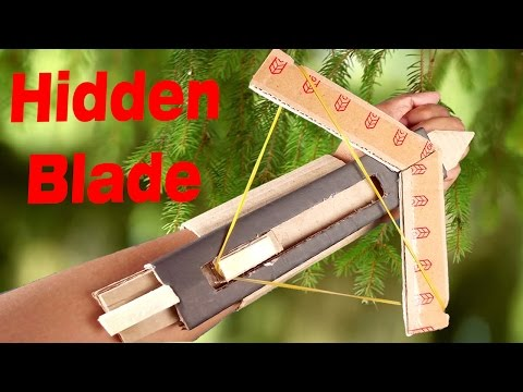 Wow! Amazing Assassin's Creed Hidden Blade DIY at Home