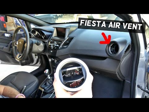 FORD FIESTA PASSENGER SIDE AIR VENT REMOVAL REPLACEMENT MK7 ST