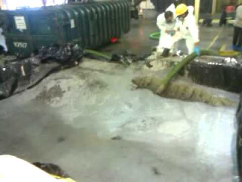 Chemical Waste Disposal Storage Tank Cleaning 2