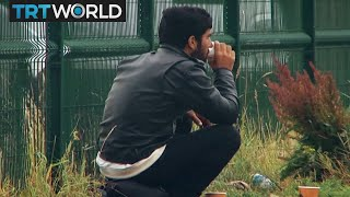 How is France treating Calais refugees?