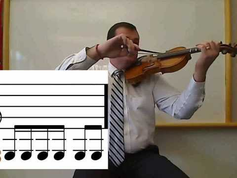 Violin: Read and Play Notes On The G String