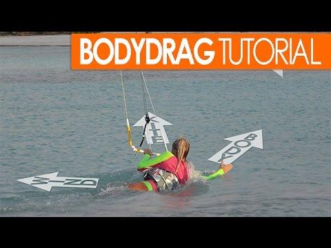 How to Kitesurf: Bodydrag Tutorial