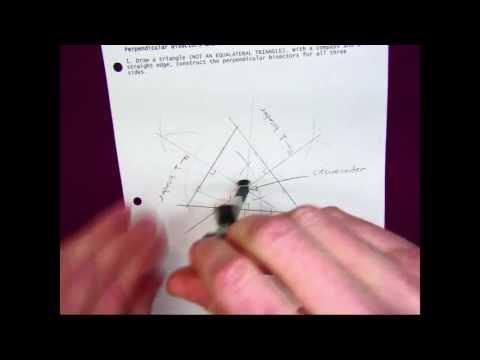 Perpendicular Bisectors and the Circumcenter