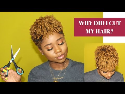 Chit Chat GRWM: WHY DID I CUT MY HAIR? | How I Style My Tapered Cut Coloured Hair | Chev B