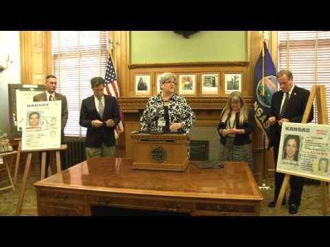 Redesigned Kansas Drivers License