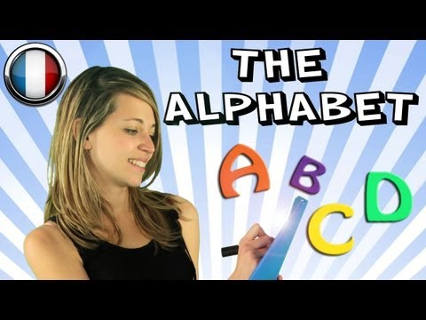French Course with Mathilde, Lesson 3 - The alphabet