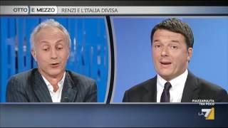 Travaglio a Renzi: fate dimettere tutti quelli che mentono compreso Lei
