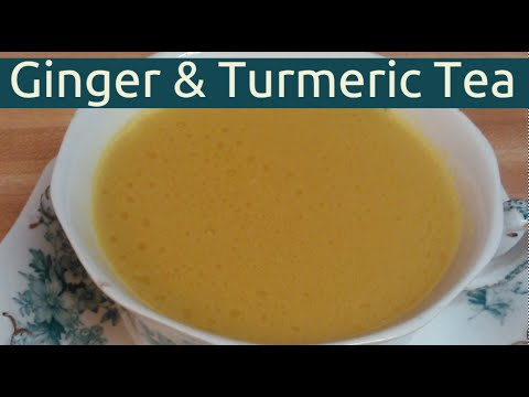 Ginger Turmeric Tea - Pain And Inflammation Relief