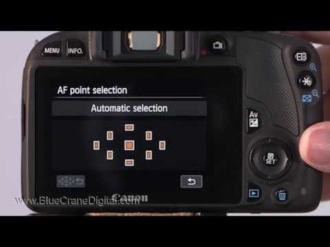 Introduction to the Canon Rebel SL1/ 100D: Basic Controls