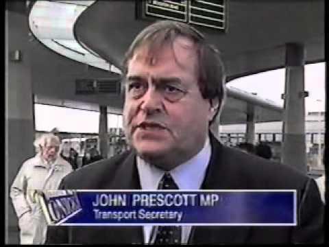 Official launch of work of Sunderland Metro Line - February 2000