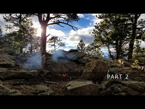Camping Alone in the Mountains of Colorado: Part 2