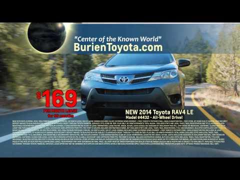 Burien Toyota RAV4 Lease Event