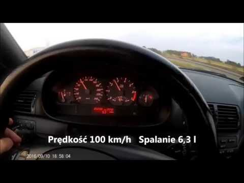 BMW e46 325Ci 192KM spalanie na V biegu