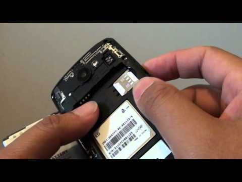 LG Leon: How to Insert / Remove SIM Card