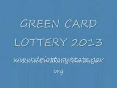 GREEN CARD LOTTERY 2013 (DV 2013)