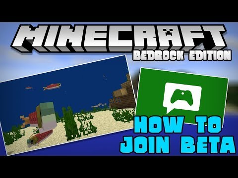 How To Join The Minecraft for Windows 10 Beta Testing