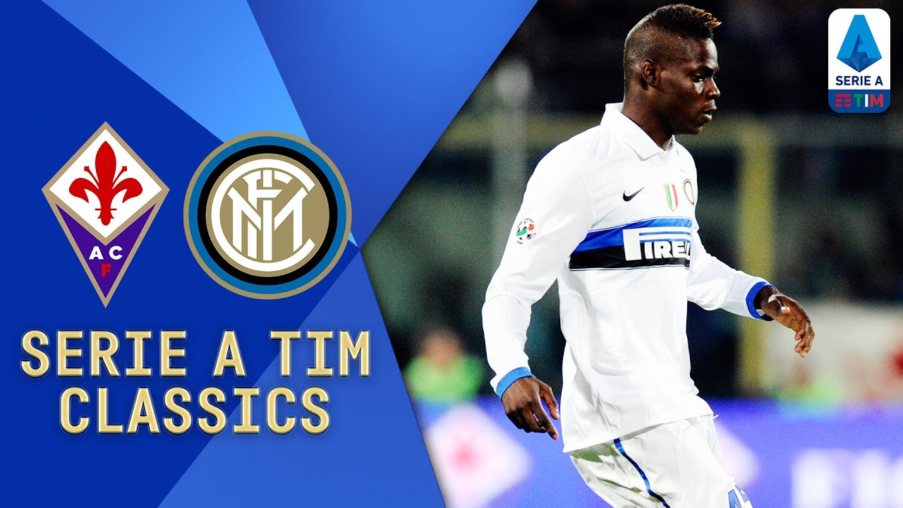 Sneijder, Eto'o and Balotelli Star! | Fiorentina v Inter (2010) | Serie A TIM Classics | Serie A TIM