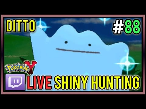 [LIVE] Shiny Ditto at 41 Friend Safari Encounters | Live Shiny Pokemon #88 | Pokemon X and Y