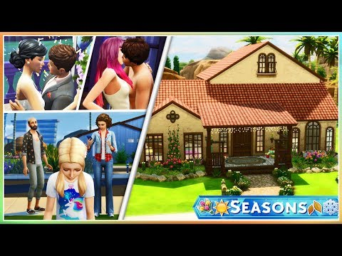 💮☀THE SIMS, THEIR STORIES & HOUSE TOUR🍂❄ | My Seasons Let's Play// Introduction!