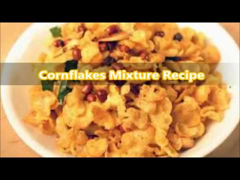 Cornflakes mixture or cornflakes masala