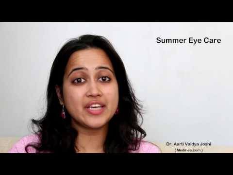 Eye Care Tips - Taking Care of Your Eyes During Summer