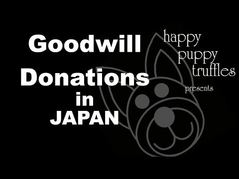 Goodwill Donations in Japan - Japanese VLOG