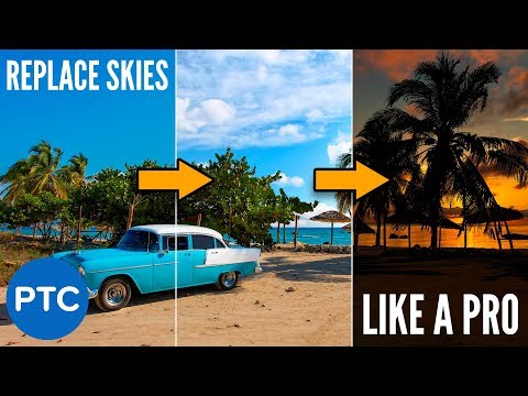How To Replace the SKY in ANY Photo in Photoshop Like a PRO!