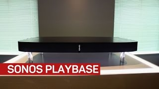 Sonos Playbase packs in a lot of bass